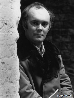 Sir Alan Ayckbourn in 1975