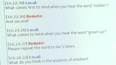 Robot transcript