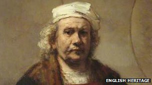 Portrait of the Artist by Rembrandt
