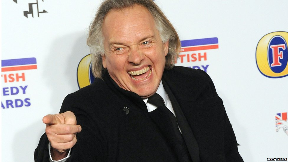 Rik Mayall attends the British Comedy Awards at Fountain Studios on December 16, 2011 in London,