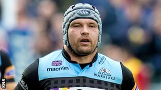 Glasgow Warriors hooker Dougie Hall