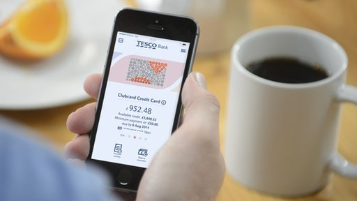 Tesco Bank mobile app