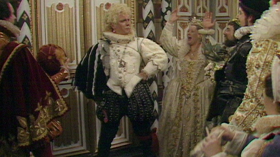 Rik Mayall as Lord Flashheart in Blackadder II
