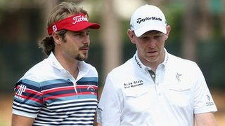 Victor Dubuisson and Stephen Gallacher