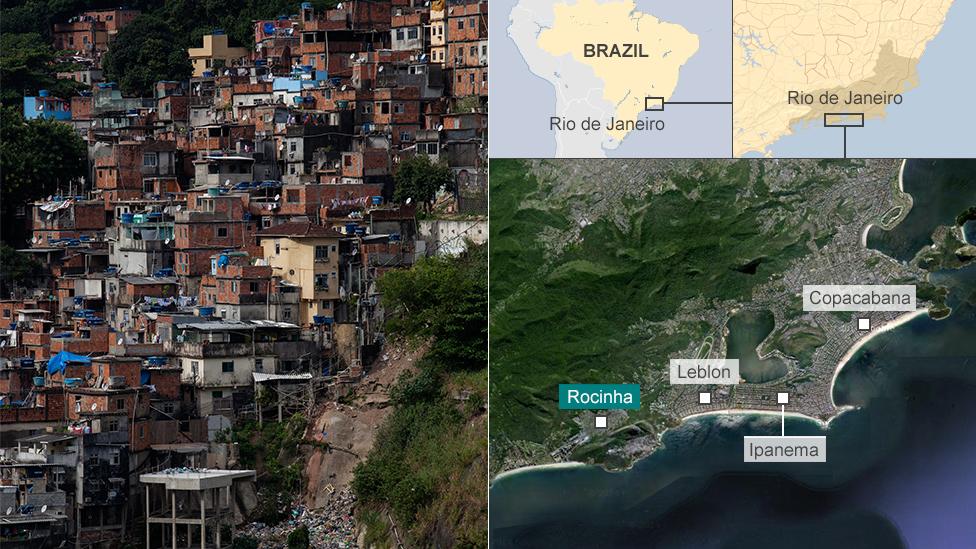 Rocinha map