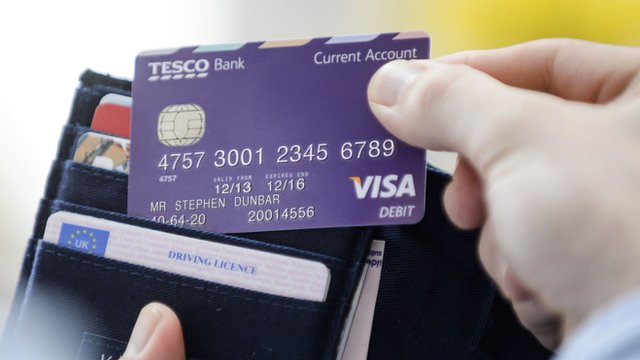 Tesco Bank card