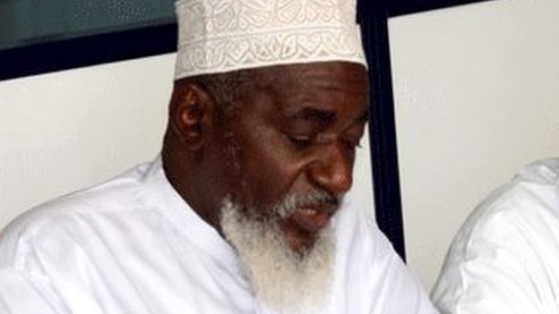 Sheikh Mohammed Idris pictured in Mombasa, Kenya