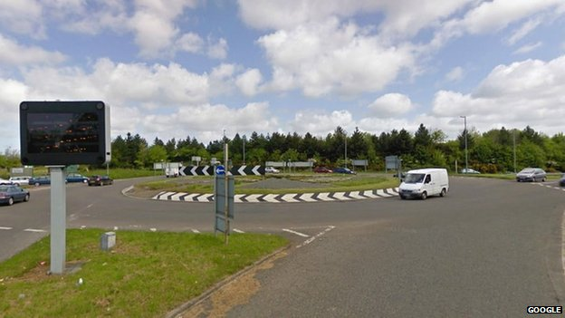 Carkeel Roundabout