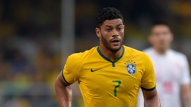 Brazil forward Hulk
