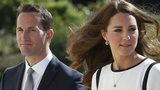 Sir Ben Ainslie (left) and Catherine, Duchess of Cambridge