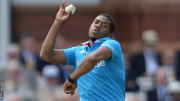 Sussex and England fast bowler Chris Jordan