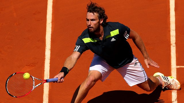 Latvia's Ernests Gulbis