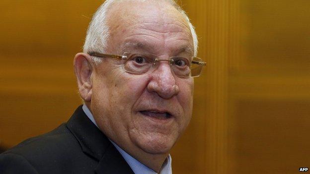 Reuven Rivlin, Israel's new president