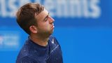 Great Britain's Dan Evans out of Queen's after Kevin Anderson defeat