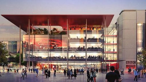 Artist impression of the new building which will is part of the wider regeneration of Capital Square