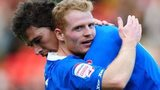 Nikola Zigic and Chris Burke