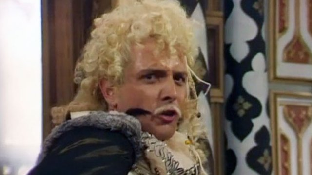 Rik Mayall as Lord Flashheart
