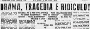 O Mundo Sportivo headline