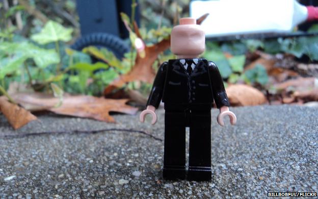 Slenderman in Lego