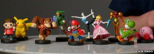 Nintendo Amiibo characters