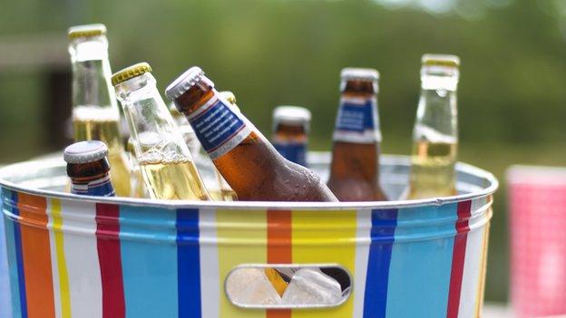 beer buckets