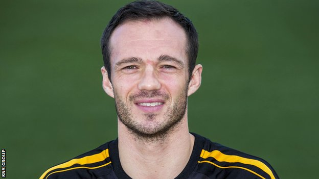 Darren Young has been playing at Alloa for the last three seasons