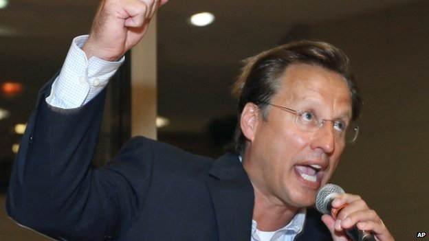 Dave Brat after his victory