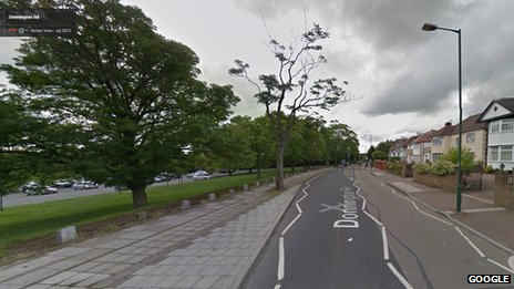 Donnington Road in Willesden Green