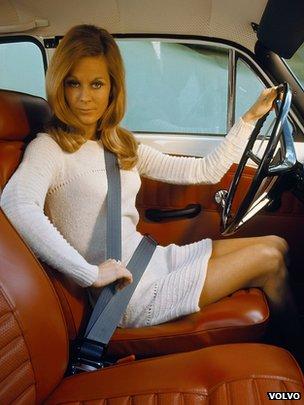 Volvo three-point seat belt