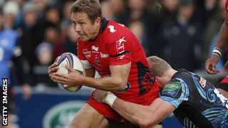 Exeter Chiefs take on Toulon in the Heineken Cup