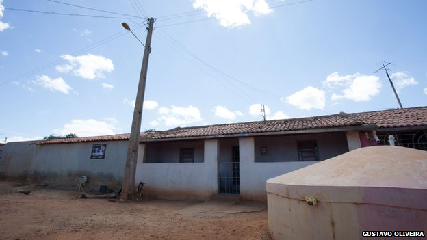 A home in Umbuzeiro