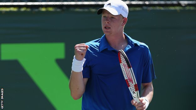 British tennis player Kyle Edmond