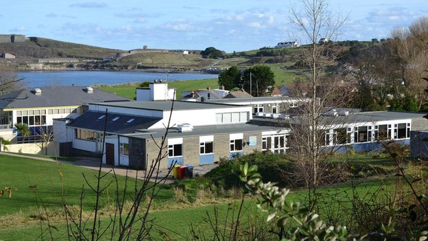 St Anne's School in Alderney