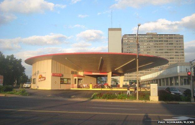 Taco building, St Louis