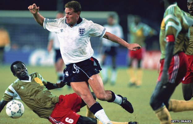 Paul Gascoigne at Italia 90