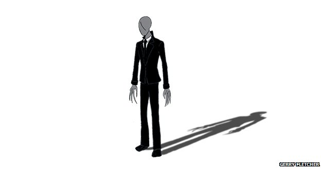 Slenderman illustration