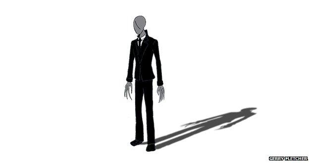 Slenderman illustration