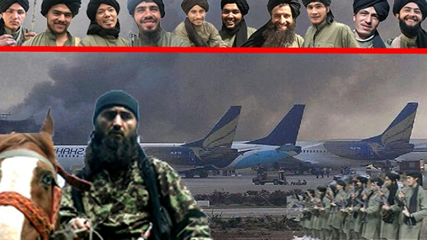 Fighters IMU said carried out the airport raid