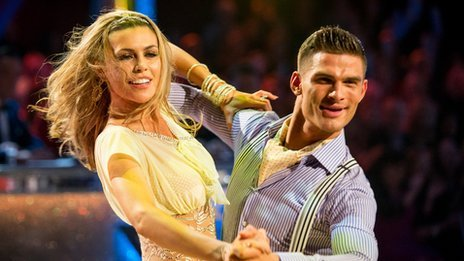Abbey and Aljaz performing the Quickstep