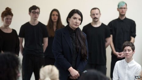 Marina Abramovic at the Serpentine