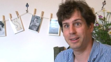 Sam Jordison, co-director of Galley Beggar Press