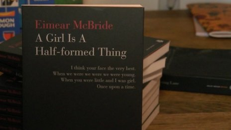 Eimear McBride's debut novel, A Girl is a Half-Formed Thing