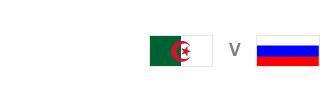 Algeria v Russia