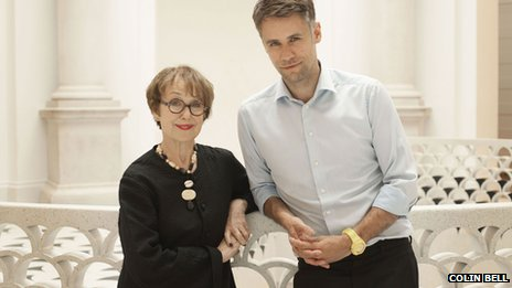 Una Stubbs and Richard Bacon at Tate Britain