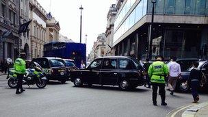 Car Parking Near Trafalgar Square