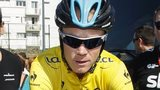 Britain's Chris Froome of Team Sky