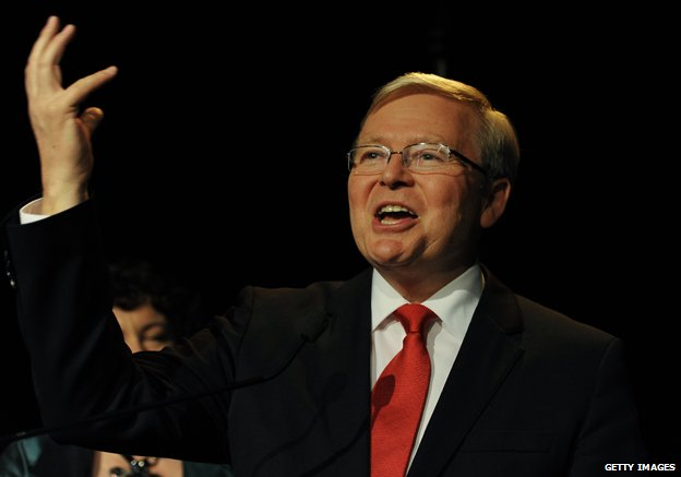 Kevin Rudd in 2013