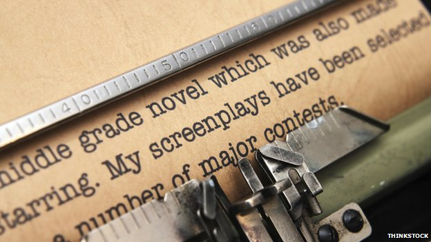 Screen play and typewriter