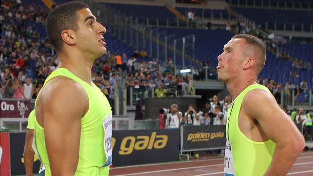 Diamond League Oslo: Adam Gemili wins battle with Richard Kilty