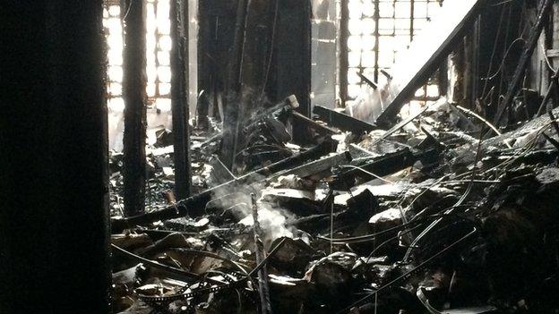 Damage to Glasgow School of Art